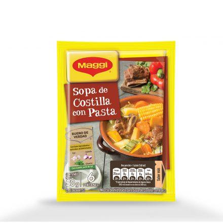 Sopa de Costilla con Pasta 50g