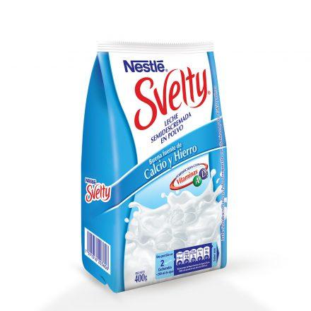 Svelty® Leche En Polvo Semidescremada de 400g